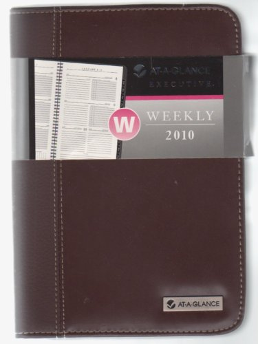 (AT-A-GLANCE Executive Appointment Book, 2010 Weekly/Monthly Desk 70-N345-00)