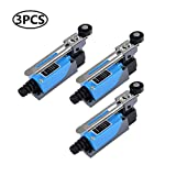 3Pcs ME-8108 Adjustable Roller Lever Arm Momentary