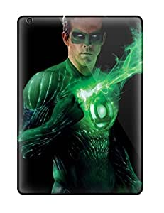 High-end Case Cover Protector For Ipad Air(green Lantern)