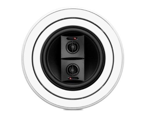 Boston Acoustics HSi 460T2 HSI460T2-0XX00 Single Speaker Stereo (White) by Boston Acoustics