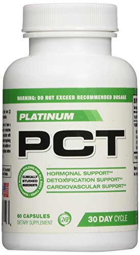PCT Platinum Post Cycle Support With Liver Support 60 Capsules