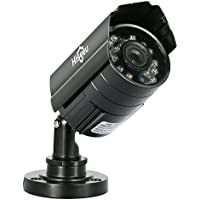 Hiseeu HD 1000 TVL 24PCS IR LEDS Surveillance CCTV Camera 3.6mm Lens with IR CUT Bullet Outdoor Security Camera, Aluminum Metal Housing, Surveillance Camera for Home