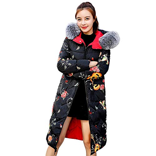- Caopixx Women Warm Winter Puffer Coat Fur Warm Windbreaker Outwear Casual Jacket