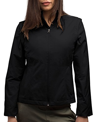 SCOTTeVEST Women's Sterling Jacket - 23 Pockets - Travel Clothing BLK M2
