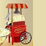 Nostalgia Electrics OFP901 Popcorn Popper, Red/Gold