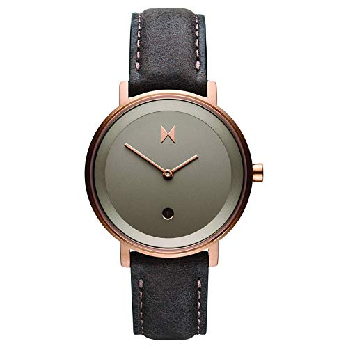MVMT Signature II Watches | 34MM Women's Analog Watch | Ashen Taupe