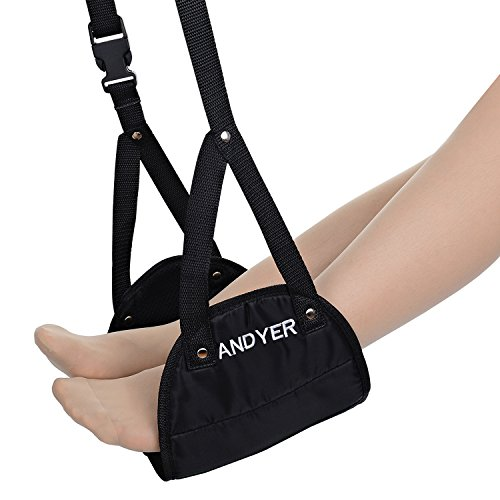 Andyer Foot Rest Portable Travel Footrest Flight Carry On