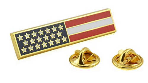 Firefighter Uniforms - American Flag Uniform Pin For Police