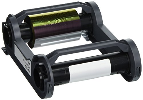 Evolis Zenius R5F002AAA YMCKO Color Ribbon - 200 Prints ()