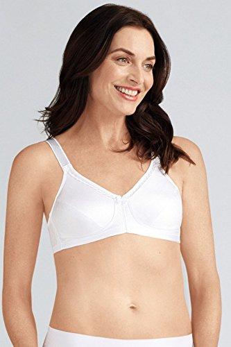 Amoena Rita Non Wired Soft Mastectomy Bra   White Size 40A
