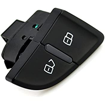 Qiilu Interruptores de bot/ón 8KD 962 107 Interruptor de bloqueo central del autom/óvil para A4//S4 B8 A4 Allroad Quattro,A5//S5 Coupe//Sportback,RS4