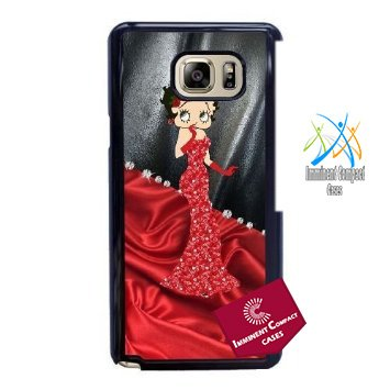 Betty Boop Black Dress - Imminent Compact © Samsung Galaxy Note 5 Cell Phone Case Black Betty Boop Dress 2 Best Gift Choice For Birthday HMB3472202