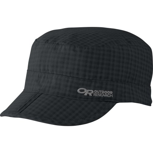 Outdoor Research Radar Pocket Cap, Small, Black Check