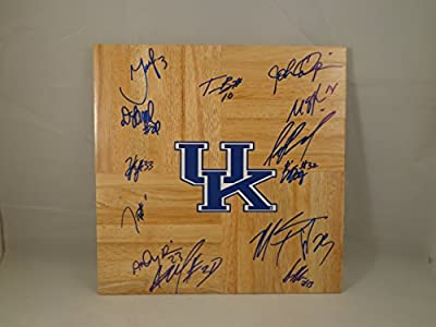 Kentucky UK Wildcats 2011-2012 Team Signed 12x12 Wooden Board w/ COA