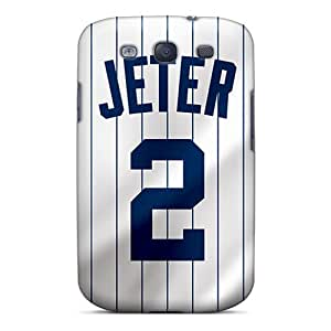 Durable Cases For The Galaxy S3- Eco-friendly Retail Packaging(new York Yankees)