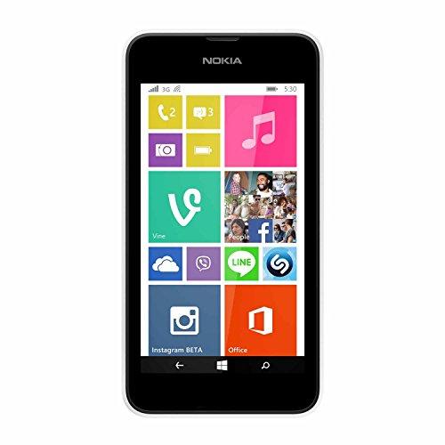 Nokia Lumia 530 RM-1018, 4GB, Single Sim (Unlocked) - White