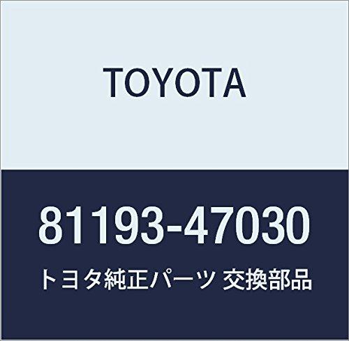 Toyota 81193-47030 Headlamp Protector