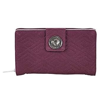 Bella Taylor Cabernet Solid Cash System Wallet