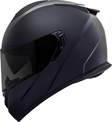 GDM Duke Helmets DK-350 Full Face Motorcycle Helmet (Matte Black, -