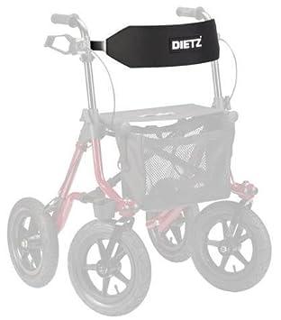 Dietz Cinturón espalda Confort para Andador Rollator TAiMA: Amazon ...