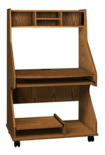 Ironwood Tower Computer Workstation, Dixie Oak (TCWDO) (Ironwood Furniture)