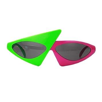 Best-Bag Novedad Gafas de Sol asimétricas Duo-Tone Gafas ...