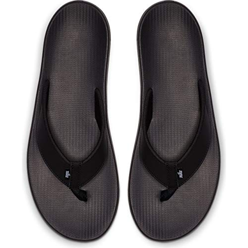 Nike Men's Kepa Kai Thong Sandal Black/White 8 D US