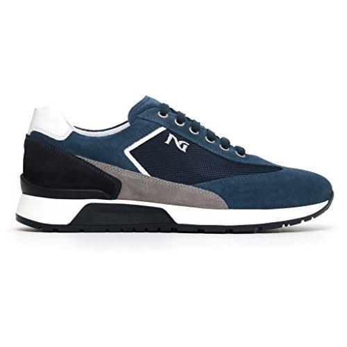 blau Giardini Nero aqua Niedrige Herren Sneaker 1faCw