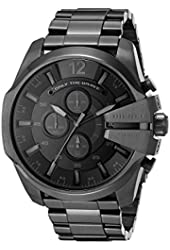 Diesel Men's DZ4355 Analog Display Analog Quartz Black Watch