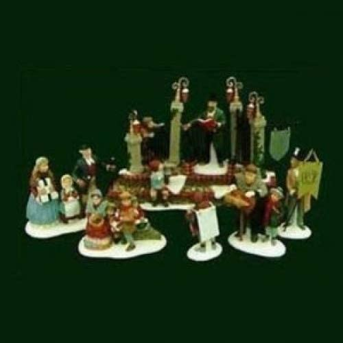 Department 56 Dickens Village Series, A Christmas Carol Reading by Charles Dickens , Ltd Edition Set