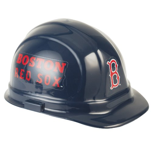 MLB Boston Red Sox Hard Hat, One Size Boston Red Sox Uniform