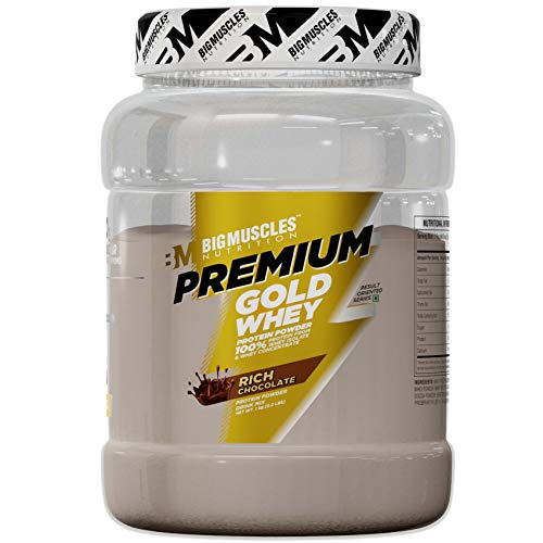 Bigmuscles Nutrition Premium Gold Whey 1Kg [Chocolate]