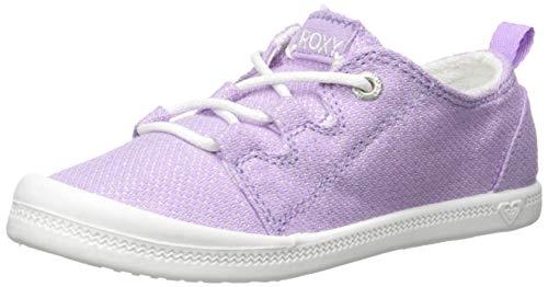 Roxy Girls' RG Briana Slip On Sneaker Shoe, Lilac, 1 M US Little Kid ()