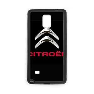 Citroen logo Funda Samsung Galaxy Note 4 Funda Caja del teléfono celular Negro Y8Y6WW