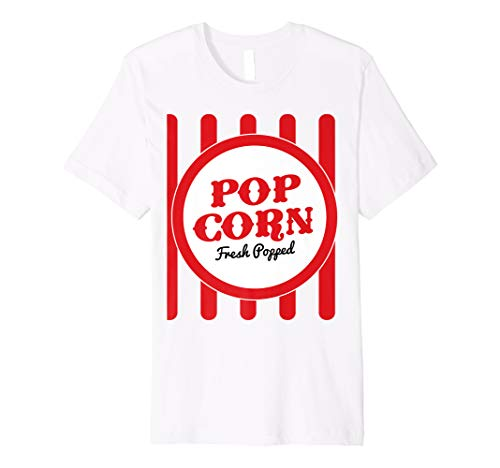 Old Fashion Popcorn Costume T-Shirt Halloween Trick Or Treat