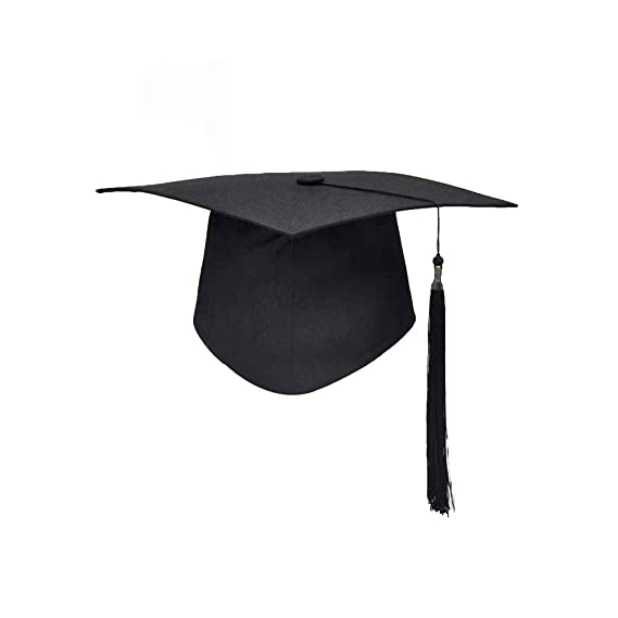 grand choix de 2019 design intemporel chaussure forbestest Obtention du diplôme de fin d'études Tassels Cap Mortarboard  Université Bachelors Master Doctor Chapeau Académique Fibres Acryliques