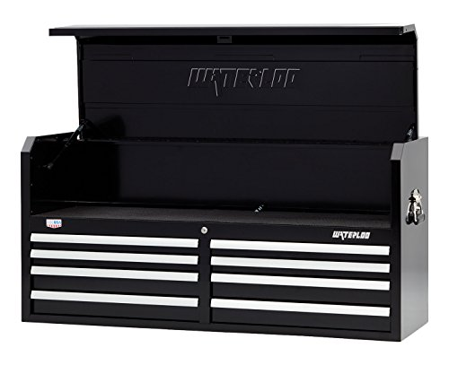(Waterloo W500 Series 8-Drawer Tool Chest with Open-Till Design and Patented Posi-latch Drawer Latching system, 52