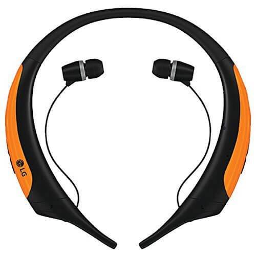 Active Stereo Bluetooth - LG HBS850ORANGE TONE Active Premium Wireless Stereo Headset (Orange)