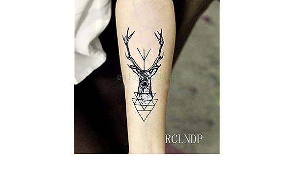ljmljm 6pcs Tatuaje Impermeable Etiqueta Pulsera Brújula Tatuaje ...