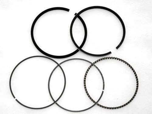13010-ZF6-003 13010-ZF6-005 Piston Ring Set Rings Replacement for Honda GX390 GX390 GXV390 H5013 3013 4013 2113 13hp 88MM STD Motor Engine Lawnmower