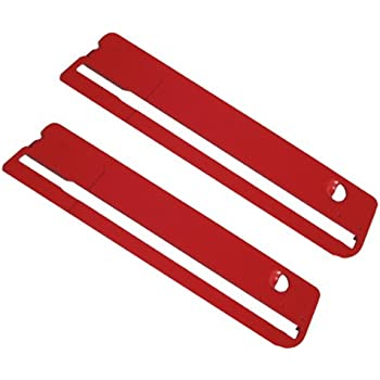 Ryobi Rts10 Table Saw Insert Throat Plate 2 Pack