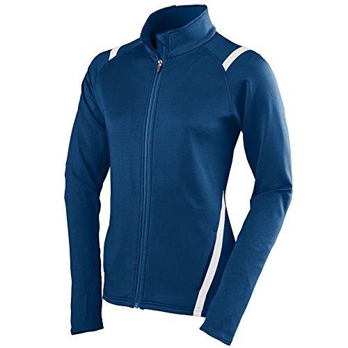 Augusta Sportswear Girls Freedom Jacket, Small, Navy/White