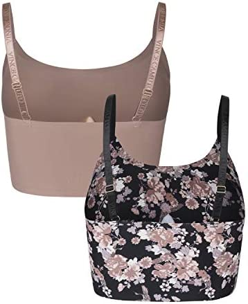 Details about  /2 PACK VINCE CAMUTO UNDERWIRE SMOOTH GENTLE LIFT BRA BLACK CHAIN PRINT//TAUPE 34B