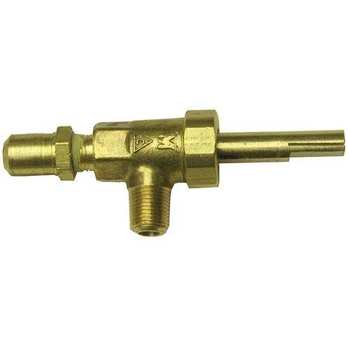Apw (American Permanent Ware) 2068500 Gas Valve 1/8 Mpt X 3/8-27 For Apw Griddle Ggm Ggt Garland Grill G24 Jade 521075 -