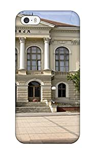 Best Premium Protection Kragujevac Gymnasium Architecture Man Made Architecture Case Cover For Iphone 5/5s- Retail Packaging