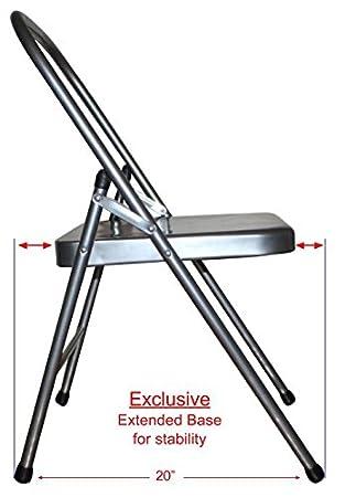 Amazon.com: Ananda Backless Yoga silla con Extended Base ...