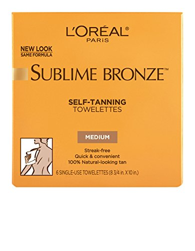 LOr%C3%A9al Paris Sublime Self Tanning Towelettes