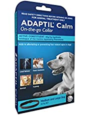 Adaptil Calm On the Go Dog Calming Canine Pheromone Collar for Anxiety and Fear Relief (Medium and Large Dog)