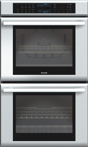 Thermador ME302JS Double Masterpiece Oven, True Convection Upper, 30 in. 1Xt Rack