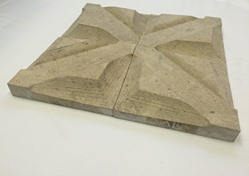 6x6-monroe-bisque-beige-carved-limestone-decorative-accent-piece